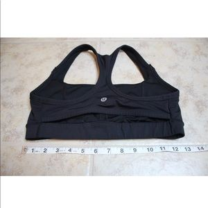 Lululemon Black Sports Bra Size 8